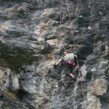 grimper autour de Bourg St Maurice - le Monal