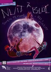 Affiche 2011 de la nuit à bloc