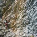 grimper en Haute Tarentaise - falaise du Monal