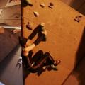 Super Catwoman grimpe - © Etienne Grassart/ Lucie Maillot